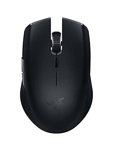 Razer Atheris: Ergonomic Gaming Mouse, with 350-Hour Battery Life , 7,200 Dpi Optical Sensor,  2.4 Ghz Adaptive Frequency Technology - Black from Razer