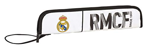 Real Madrid 2018 Make-Up Pouch, 37 cm, White (Blanco) from Real Madrid F.C.