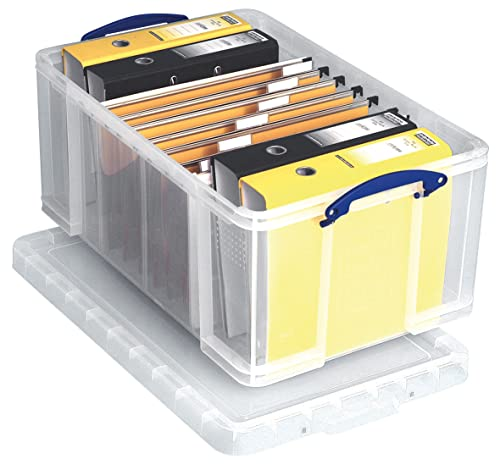 Really Useful Box 64 Litre Storage Box, Clear from Really Useful Box
