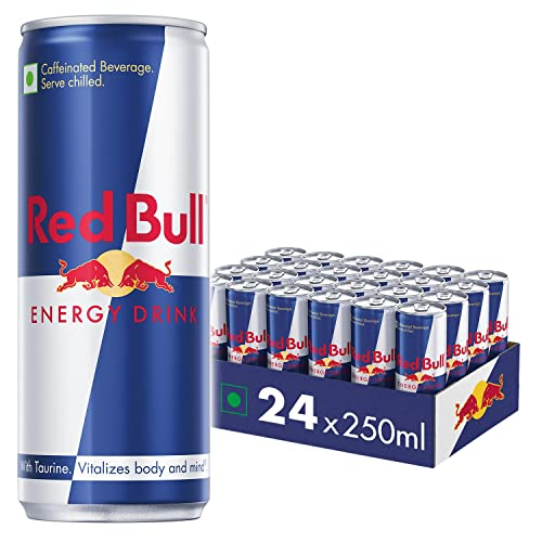 Red Bull Energy Drink, 250 ml, Pack of 24 from Red Bull