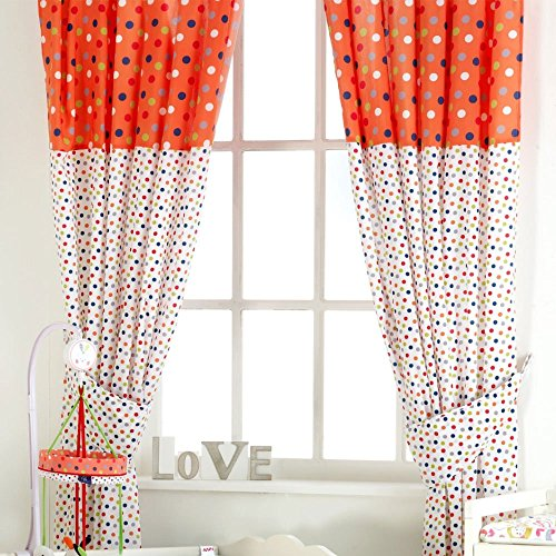 Red Kite Cotton Tail And Friends And Friends Tab Top Curtains from Red Kite