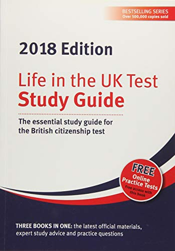 Life in the UK Test: Study Guide 2018: The essential study guide for the British citizenship test from Red Squirrel Publishing