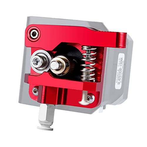 Redrex Upgraded Aluminum Bowden Extruder with 40 Teeth MK8 Drive Gear for Creality CR-10 Series and other Reprap Prusa 3D Printers from Redrex