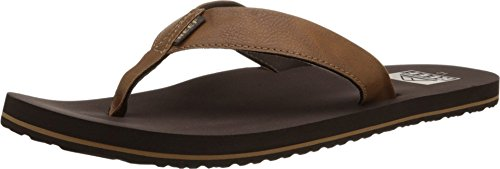 Reef Men's Twinpin Flip Flops, Brown), 8 UK 42 EU from Reef