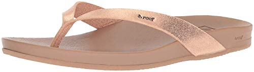 Reef Women's Cushion Bounce Court Flip-Flop, Rose Gold, 5 UK from Reef
