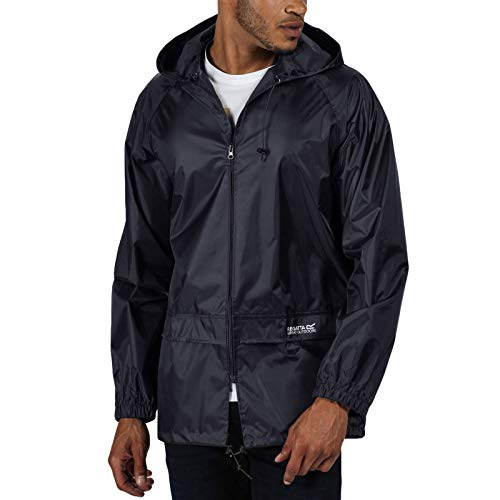 Regatta Waterproof Stormbreak Men's Outdoor Hooded Jacket available in Navy - X-Large from Regatta