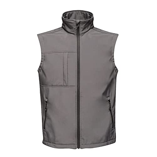 Regatta TRA848 74Y70 Professional Octagon II 3 Layer Waterproof Softshell Body warmer, SealGrey(Bk), L from Regatta