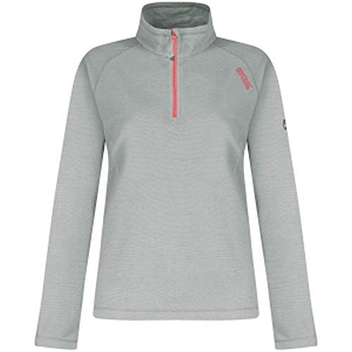Regatta Lightweight Montes Women's Outdoor Fleece Jacket available in Light Steel - Size 20 from Regatta