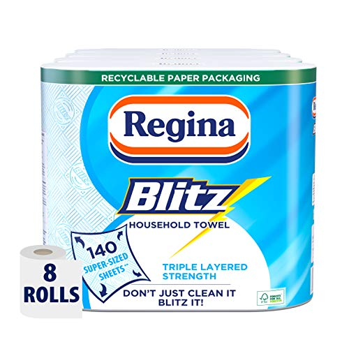 Regina Blitz Household Towels - Pack of 4, Total 8 from Regina