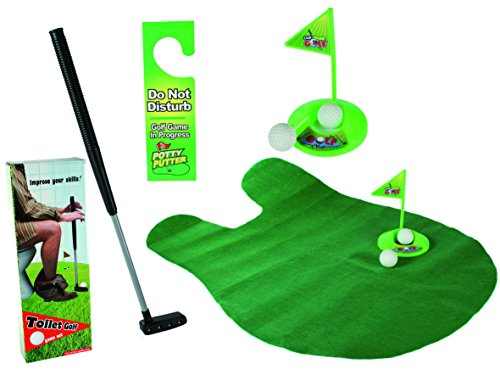 59-2049 - TOILET GOLF GAME SET from Relaxdays