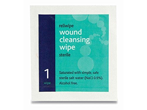 Reliwipe Sterile Wound Cleansing Wipes (Pack 20) from Reliance Medical