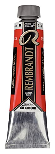 Rembrandt Paint Oil CAD MD, Cadmium Red Medium, One Size from Rembrandt