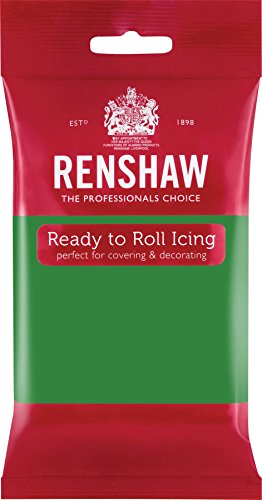 Renshaw Lincoln Green Ready to Roll Fondant Icing Sugarpaste - 250g from Ren