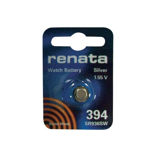 One (1) X Renata 394 SR936SW SB-A4 Silver Oxide Watch Battery 1.55v Blister Packed from Renata