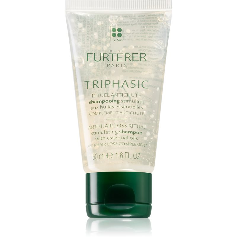 René Furterer Triphasic Stimulating Shampoo to Treat Hair Loss 50 ml from René Furterer