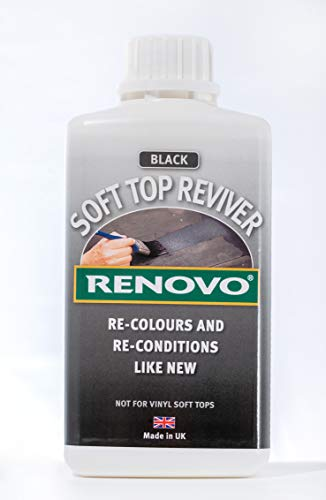 Renovo International Soft Top Reviver, Black, 500 ml from Renovo
