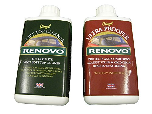 Renovo REN-KIT11 Double Cleaning Kit includes Vinyl Cleaner and Proofer, 500 ml from Renovo
