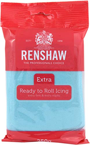Renshaw Ready to Roll Icing Baby Blue, 250g from Renshaw