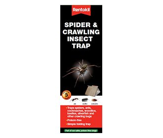 2 X 4 x Rentokil 3 Pack Spider & Crawling Insect Beetle Ants Cockroaches Trap from Rentokil