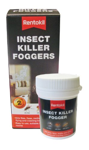 3x Rentokil FI65 Insect Killer Foggers (Pack of 2) from Rentokil