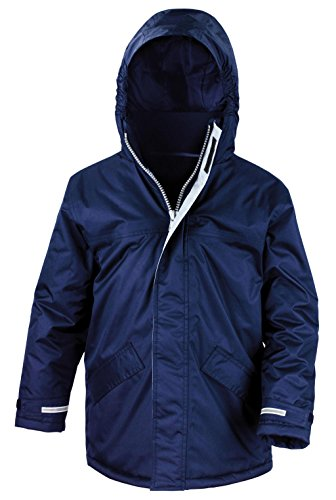 Result Kids R207J Core Winter Parka, Navy, Medium/Size 7/8 from Result