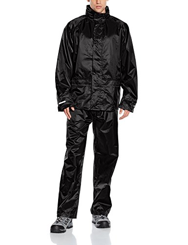 Result Unisex Core Rain Suit Black  Large from Result