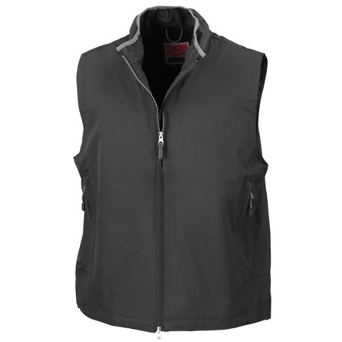 Result RE60A Crew Gilet, Black, Large from Result