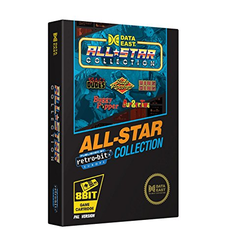 Retro-Bit Europe Data East All Star Collection PAL Version NES Cartridge for NES  (Nintendo NES) from Retro-Bit Europe
