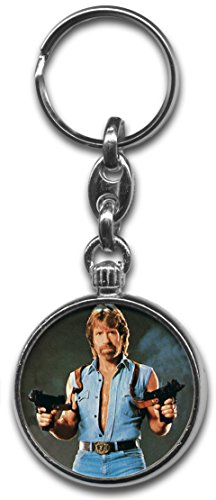 Chuck Norris Keyring from RetroBadge