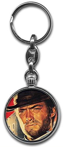 Clint Eastwood Keyring from RetroBadge