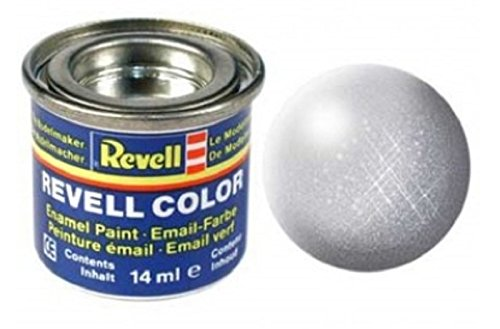 Revell 14ml Email Color Enamel Paint (Silver Metallic Finish) from Revell