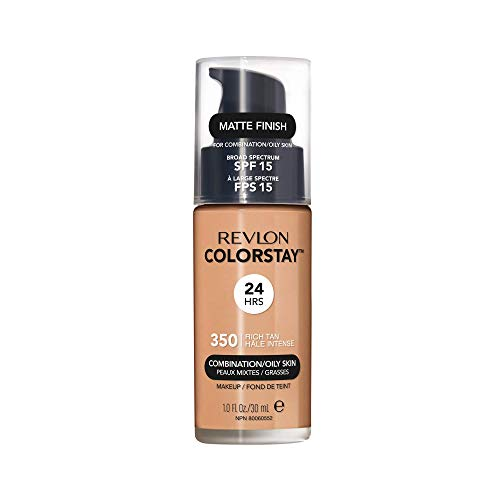 Revlon ColorStay Makeup Foundation for Combination/ Oily Skin - 30 ml, Rich Tan from Revlon