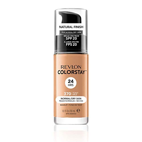 Revlon Colorstay Foundation, Toast 370 (Packaging May Vary) from Revlon