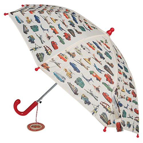 Rex London 25340 Children's Spring Loaded Umbrella - Choice of Design ( Vintage Transport ) from Rex London