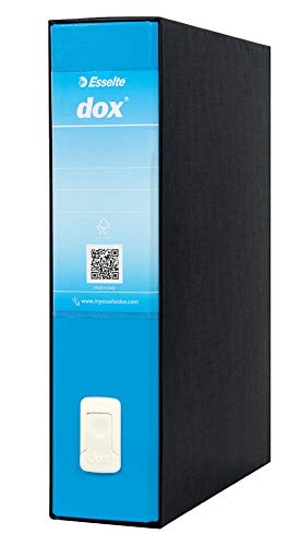 Esselte DOX 2 - Cardboard folder, size L, color blue,Single unit from Esselte