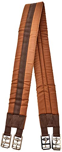 "Rhinegold Cotton Padded Girth - 46"" - Brown from Rhinegold"