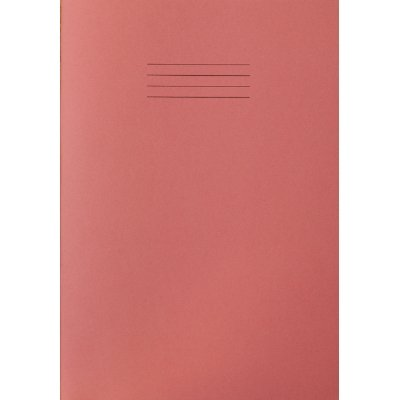 RHINO F8M A4 64 Page Exercise Book - Pink (Pack of 10) from Rhino