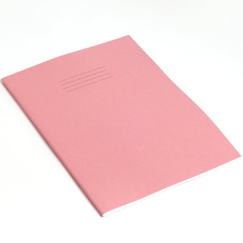 RHINO F8M A4 80 Page Exercise Book - Pink (Pack of 10) from Rhino