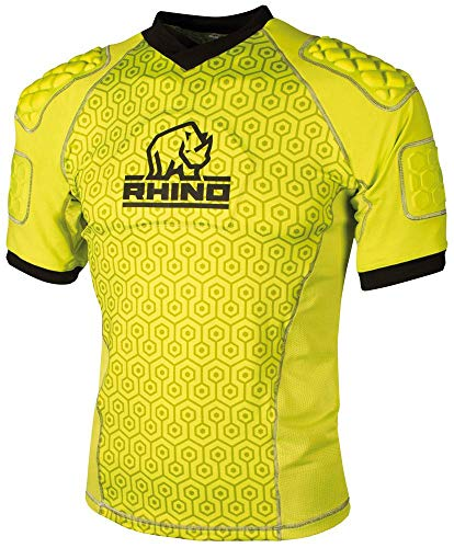 Rhino Pro Body Protection Top - Fluorescent Yellow | probody-yellow-ly from Rhino