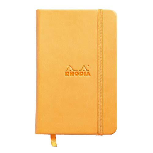 Rhodia Webnotebook, A6, Lined - Orange from Rhodia