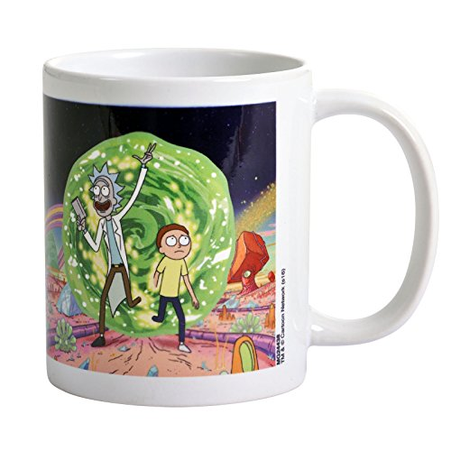 Rick & Morty MG24438 Portal Mug- Multi-Colour from Pyramid