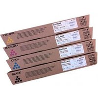 Original Multipack Ricoh Aficio MPC6003SP Printer Toner Cartridges (4 Pack) -CB1-841853/6_14415 from Ricoh