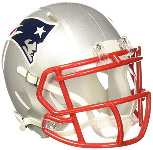 NFL RIDDELL AMERICAN FOOTBALL NEW ENGLAND PATRIOTS MINI SPEED HELMET from Riddell