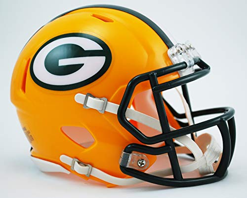 Riddell Green Bay Packers American Football NFL Speed Mini Helm from Riddell