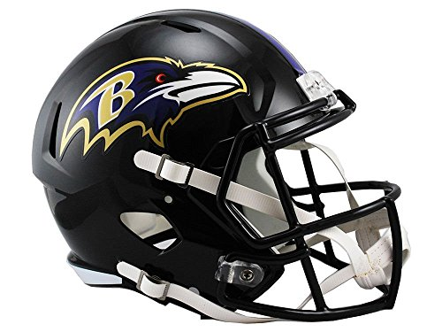 Riddell NFL Baltimore Ravens Full Size Replica Speed Helmet, Medium, Purple from Riddell
