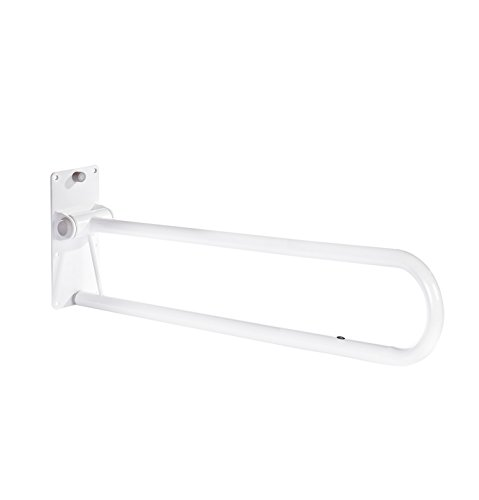 Ridder A0130201 Toilet Standing Support Foldable Standard White from RIDDER