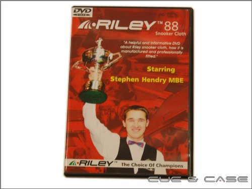 Riley Snooker Cloth Fitting DVD Starring Stephen Hendry from Riley