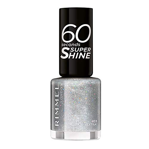 Rimmel 60 Seconds Glitter Nail Polish, Extra from Rimmel