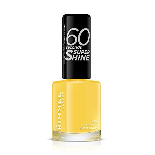 Rimmel 60 Seconds Super Shine Nail Polish - 8 ml, Chin Up Buttercup from Rimmel