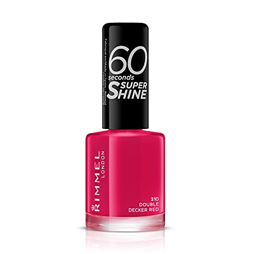 Rimmel 60 Seconds Super Shine Nail Polish - 8 ml, Double Decker Red from Rimmel